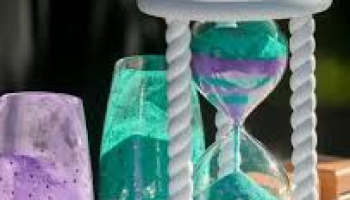 Heirloom Sand Ceremony Hourglass for all occasions + 30% off